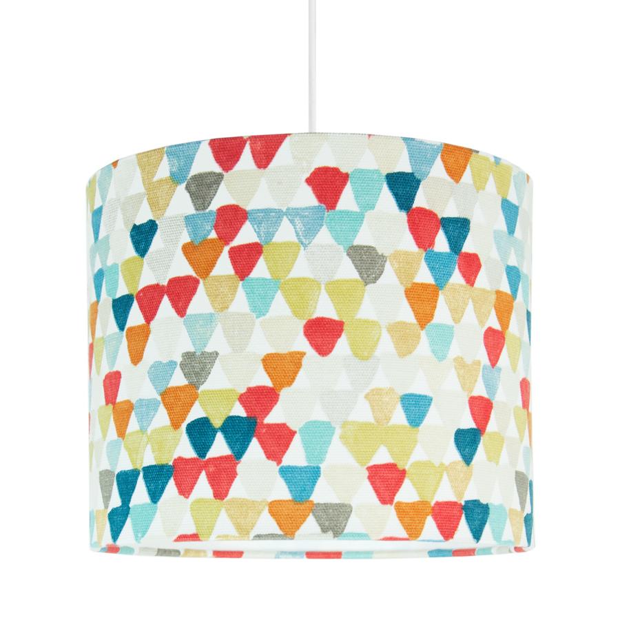 Lampa sufitowa MINI kolorowe trókąciki