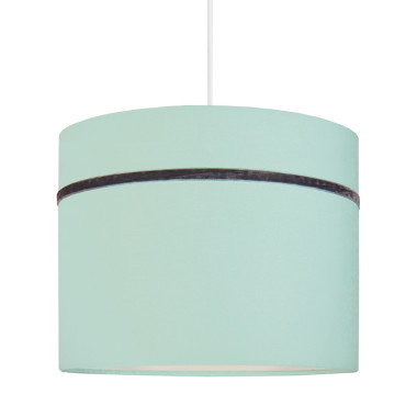 Abażur - Lampa sufitowa MINI porcelanowa mięta