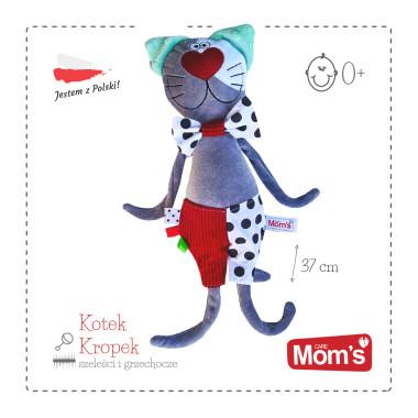Kotek Kropek (962) -szeleścik, grzechotka