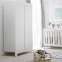 Pinio Moon - szafa 2-drzwiowa biała do pokoju dziecka