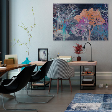 Energia życia - nowoczesny obraz do salonu