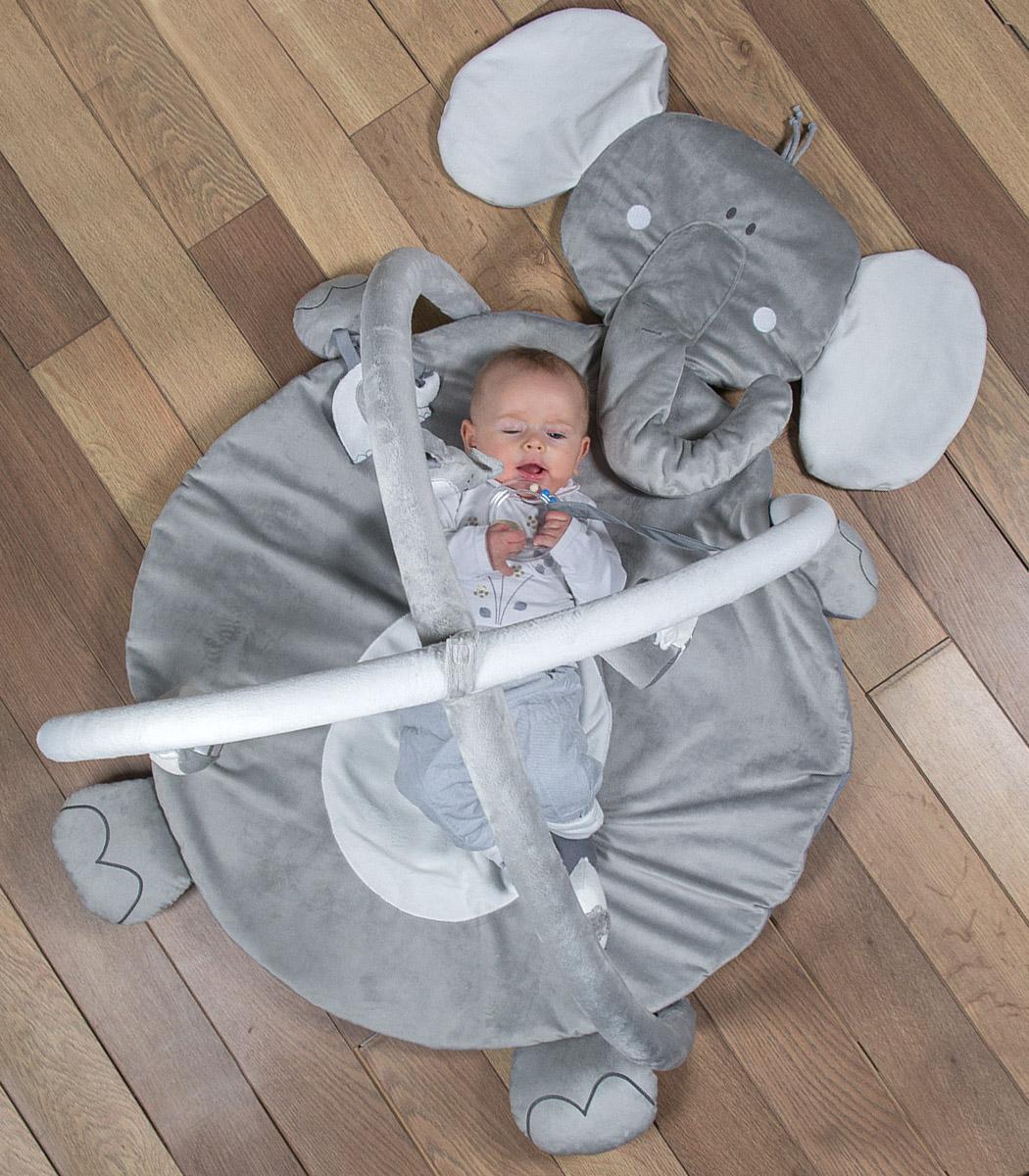 Słoniki - mata edukacyjna w kształcie słonia