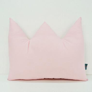 Dekoracyjna poduszka do pokoju dziecięcego - kolor różowy
