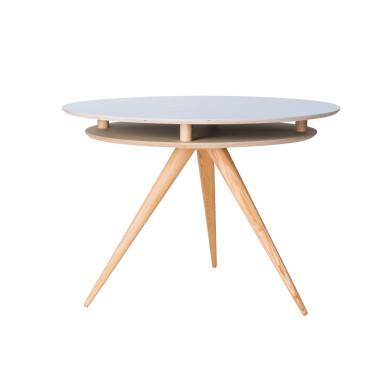 Okrągły Stół TRIAD blat wykonany ze sklejki
