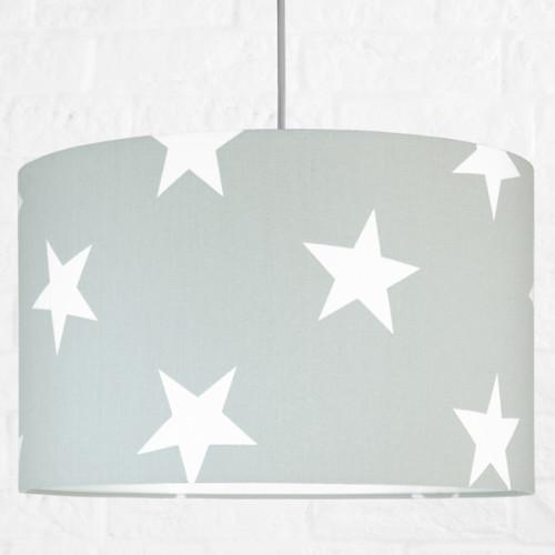 Kolekcja Scandinavian - Lampa szara w gwiazdki