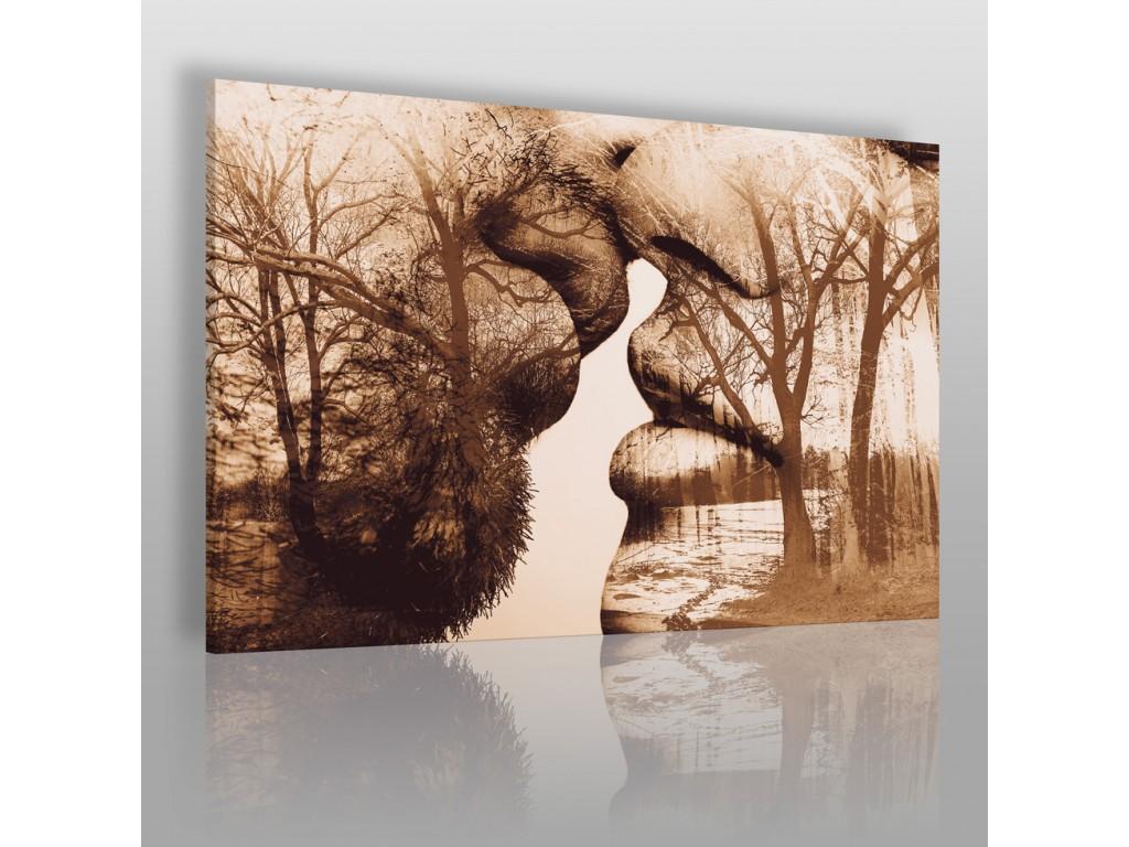 Antologia intymności - nowoczesny obraz na płótnie