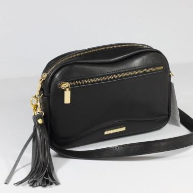 modna i elegancka skórzana torebka – skóra licowa