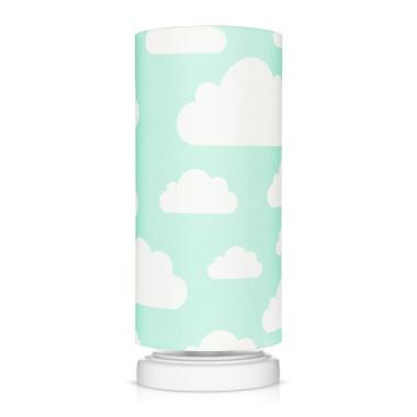 Lampka nocna Chmurki Mint