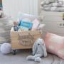 Poduszka ozdobna Chmurki Pink & Grey (2)