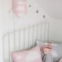 Poduszka ozdobna Chmurki Pink & Grey