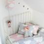 Pościel dla dzieci Chmurki Pink & Grey