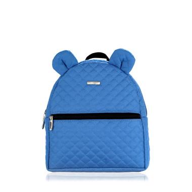 FARBIŚ - plecak dziecięcy pikowany niebieski