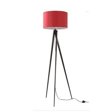 Lampa podłogowa, stojąca na trzech nogach, wenge LW14-02-20