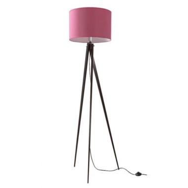 Lampa podłogowa, stojąca na trzech nogach, wenge LW14-02-27