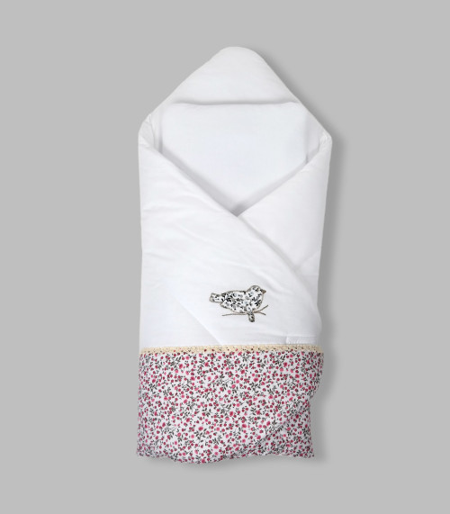 Rożek niemowlęcy wykonany z wysokiej jakości tkaniny bawełnianej- usztywniany