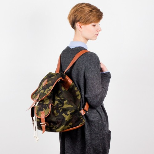 Plecak Nuff - woodland & brown