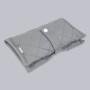 Milky Grey - etui na pieluszki i chusteczki dla niemowląt