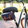 Sakwa rowerowa pod siodełko Nuff classic   Granat