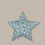 Cyrk - pikowana poduszka w kształcie gwiazdy