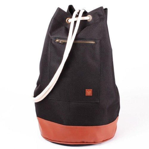 Worek na ramię / Plecak Nuff Duffel Black