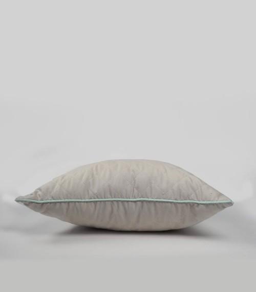 Cyrk - poduszka ozdobna pikowana szara