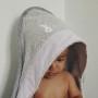 Emi - okrycie kąpielowe 80x80 cm z myjką 3
