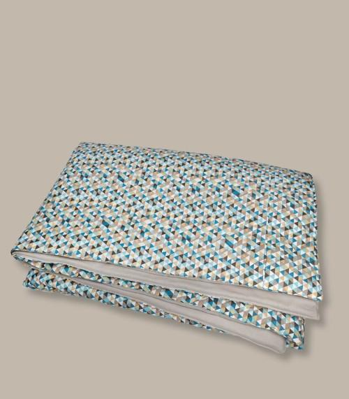 Cyrk - pikowana narzuta/ kapa na łóżko
