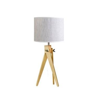 Lampa stołowa nocna sztalugowa trójnóg LW16-01-30