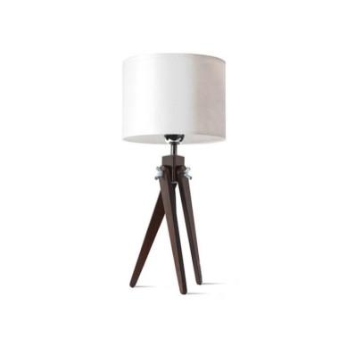 Lampa stołowa nocna sztalugowa trójnóg wenge LW16-02-17