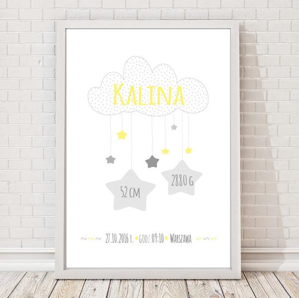 Zestaw 2 plakatów dla dziecka na chrzest narodziny 2