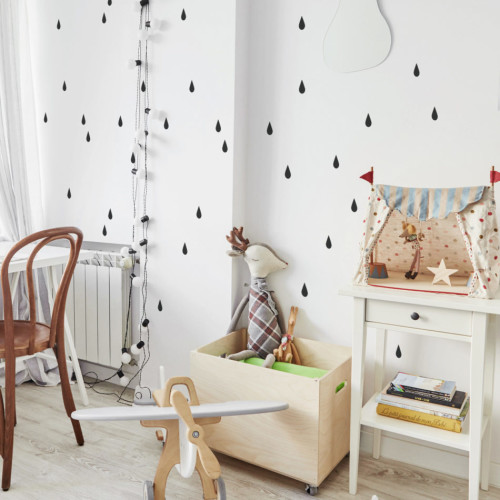 Świetna dekoracja ścian pokoju nastolatków.