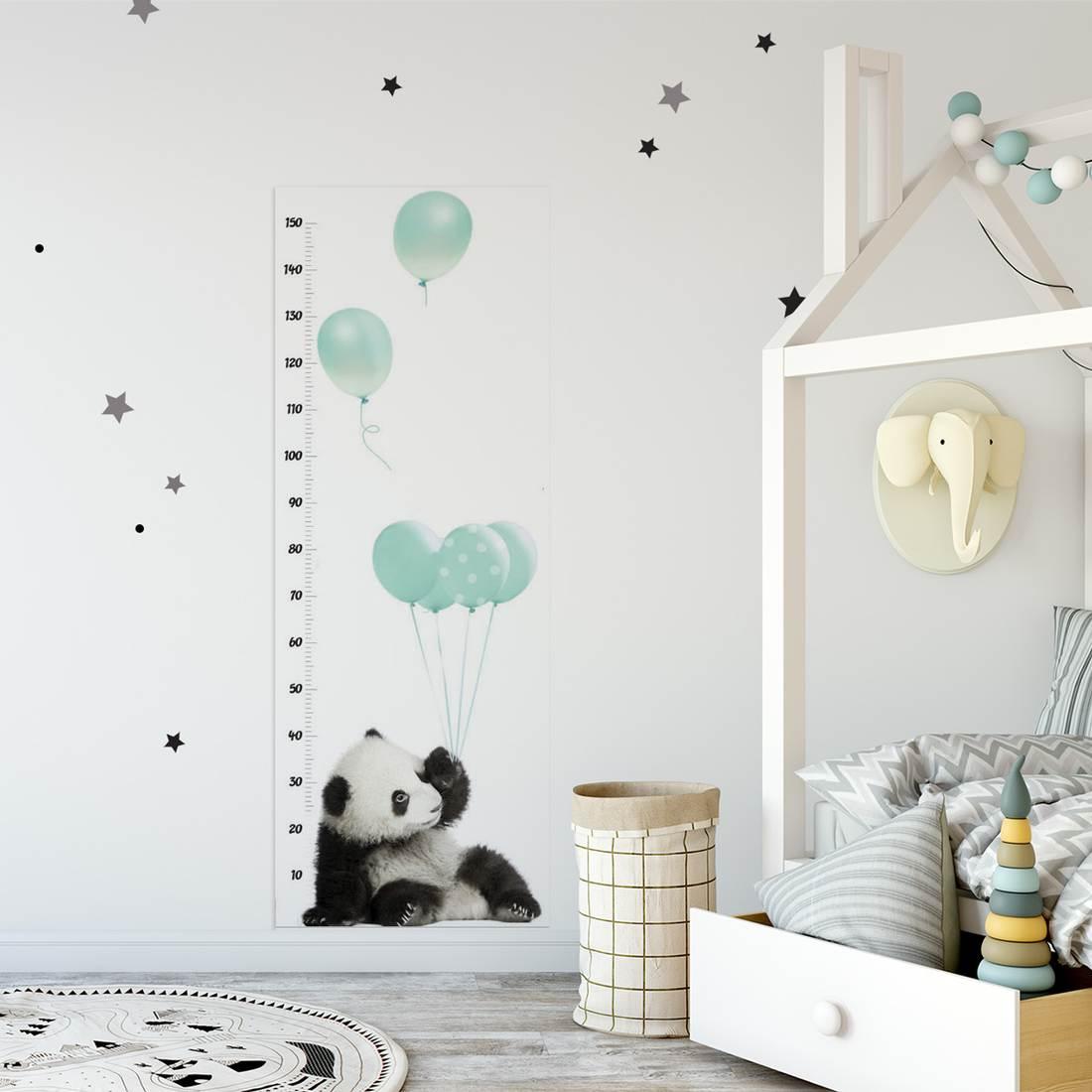 Przemiła panda. Dekoracja do pokoju chłopca.