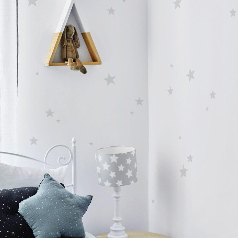Dekoracja samoprzylepna do samodzielnej aplikacji na ścianie. Do pokoju przedszkolaka i małego ucznia.