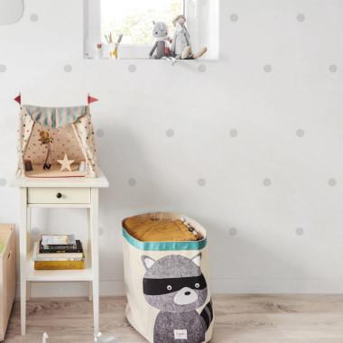 Delikatna, szara grafika doskonale komponuje się ze ścianami w każdym kolorze. Użyj w sypialni lub jadalni a nawet w kuchni.