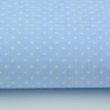 Bawełniane błękitne zasłony świetne do pokoju malucha. Pasują też do sypialni a nawet kuchni.