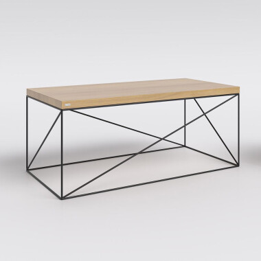 Stolik kawowy HAMBURG  minimalistyczny mebel w stylu skandynawskim