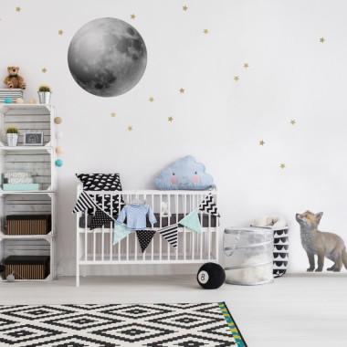 Piękny zestaw, którym przyozdobisz całą ścianę pokoju dziecka - przedszkolaka lub ucznia.