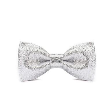 Srebrna mucha - bardzo elegancka. Na piękny prezent dla małego eleganta.