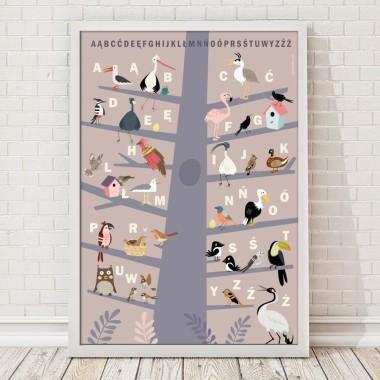 Plakaty edukacyjne są doskonałą dekoracją ścienną. Obok funkcji poznawczej charakteryzują się znakomitym wzornictwem.