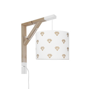 youngDECO lampa simple diamenty