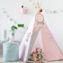 Tipi Lovely Dots Pink & Grey (6)