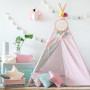 Tipi Lovely Dots Pink & Grey (7)
