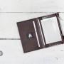 MIKRO +\- to minimalistyczny portfel/wizytownik. Jest to forma przejściowa pomiędzy modelami MIKRO i MIKRO +