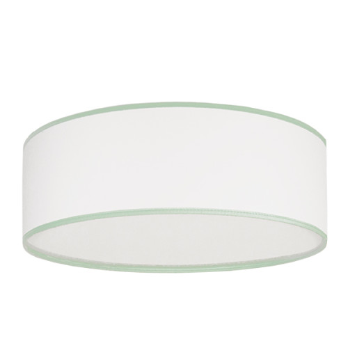 Plafon porcelanowa biel z miętą