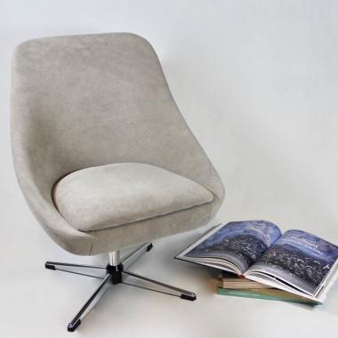 Fotel kubełkowy PRL