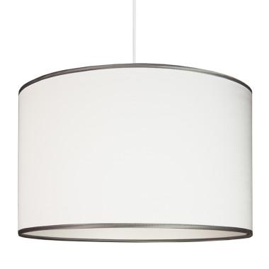 Lampa sufitowa Srebrzysta biel