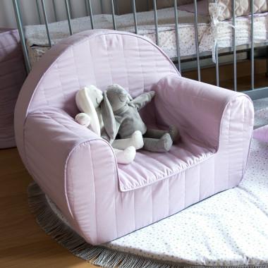 Lila Stars - fotelik dla dziecka