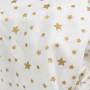Lila Stars -  prześcieradło
