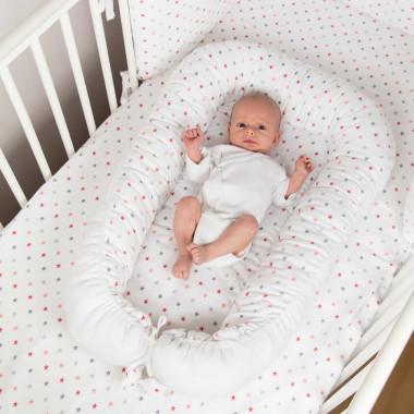 Pure - muślinowy dwustronny Kokon dla noworodka:Otulacz:Gniazdo 2