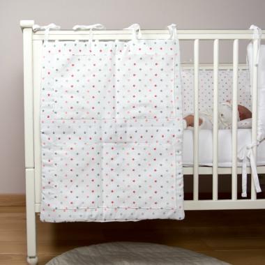 Pure - przybornik (organizer) do łóżeczka